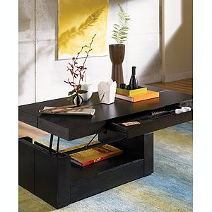 More Than Meets The Eye Sitcom Furniture Petra Lift Top Coffee Table