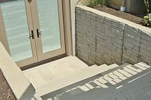 Image of: Basement Egress Doors Inside Egress Door From Basement Basement Egress Windows Outside Entry Doors Decorative