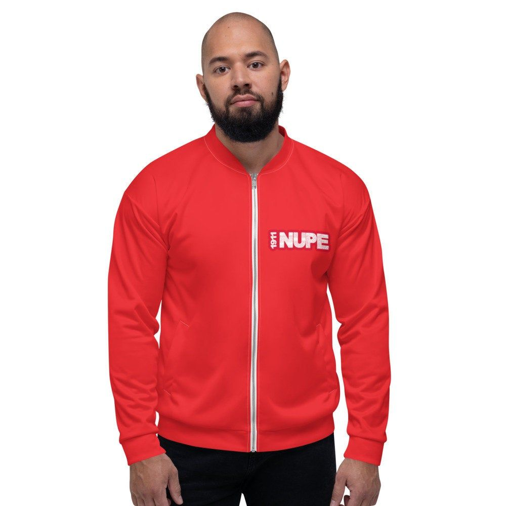 1911 Nupe Kappa Jacket High Quality Fraternity Gifts Unisex Bomber Jacket Made In Usa Printed Bomber Jacket Warm Hoodie Bomber Jacket [ 1000 x 1000 Pixel ]