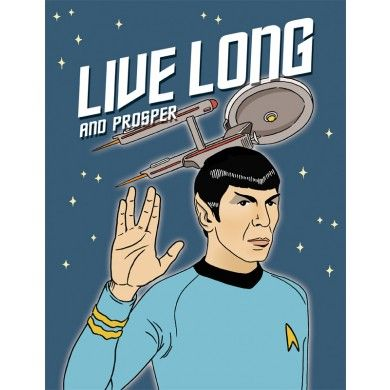 Image result for STAR TREK SPOCK GREETING