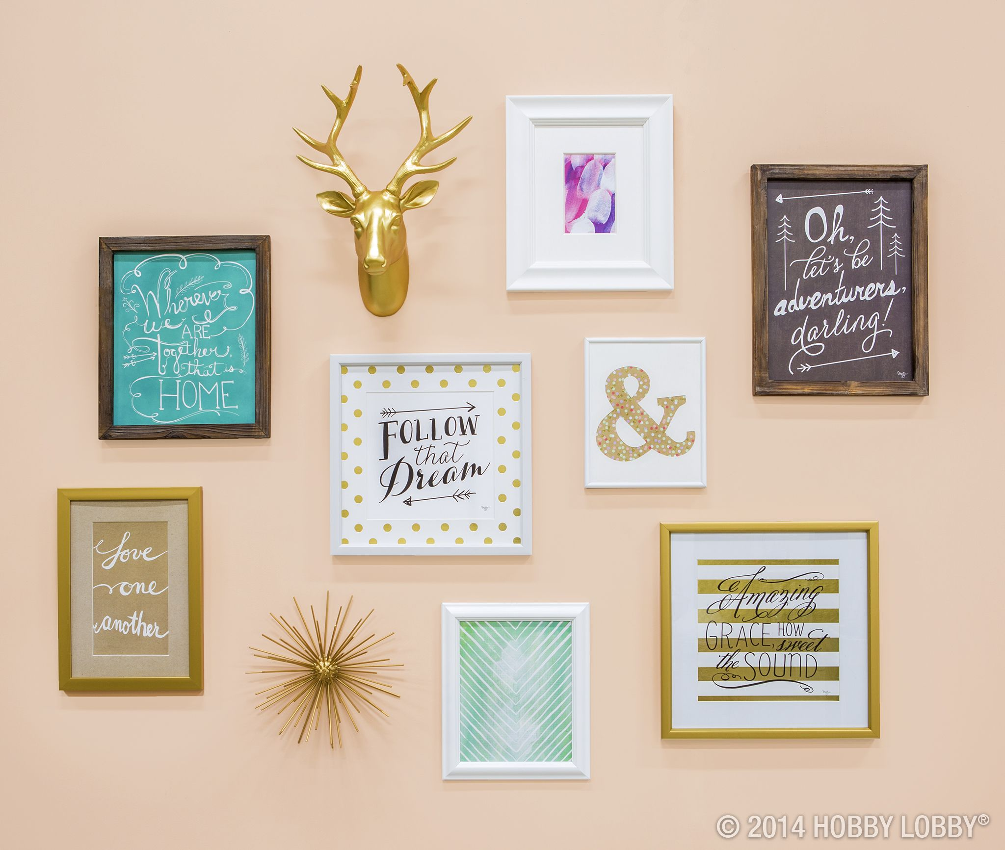 Gallery Wall Shop Hobby Lobby Gallery Wall Wall Collage Perfect Gallery Wall