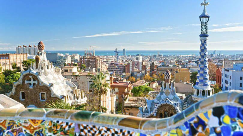 Cidade de Barcelona, na Espanha