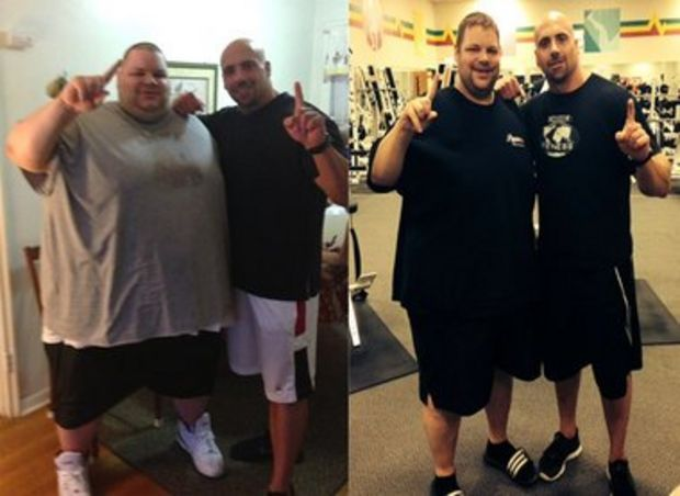 From 700 pounds to 424: Ron Brower has an inspirational story about improving his health.