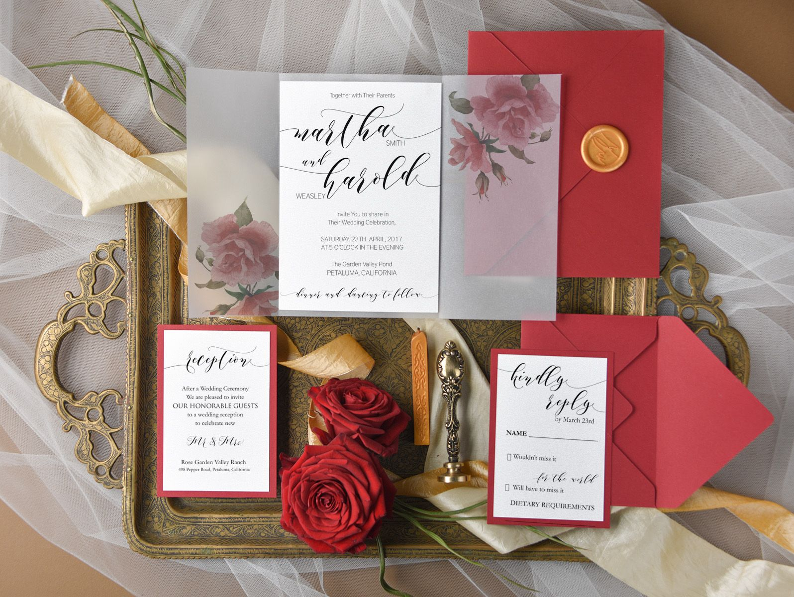 WEDDING INVITATIONS watercolor | Weddings
