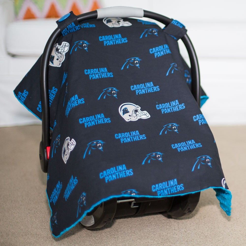 premium selection d0e44 9fc76 Carolina Panthers Baby Gear: Infant Carseat Canopy Cover ...