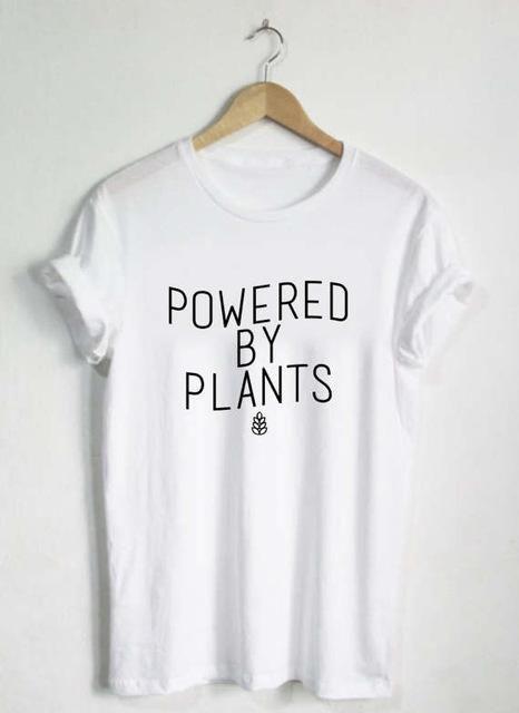 Powered By Plants Shirt Unisex T Shirt Hip Plant Eater Vegetarian