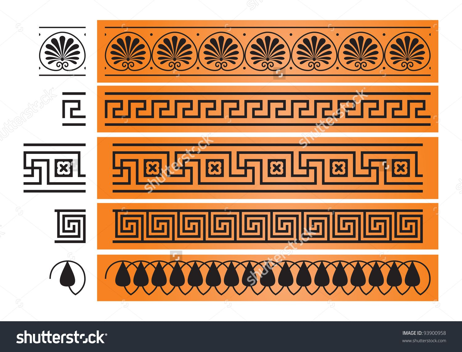 Pin by maria laskaris on canvas paintings pinterest greek ancient greece ornament octant meander decor from the ancient greek ceramic pottery vase painting architecture and design element vector image reviewsmspy