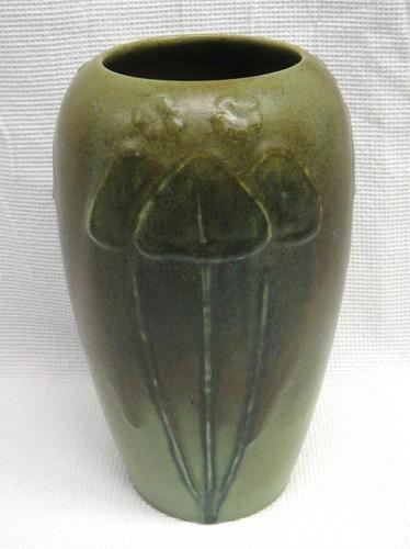 Rookwood Pottery 1126 C Satin Glaze 10 Mushroom Vase Rookwood Pottery Rockwood Pottery Pottery Art