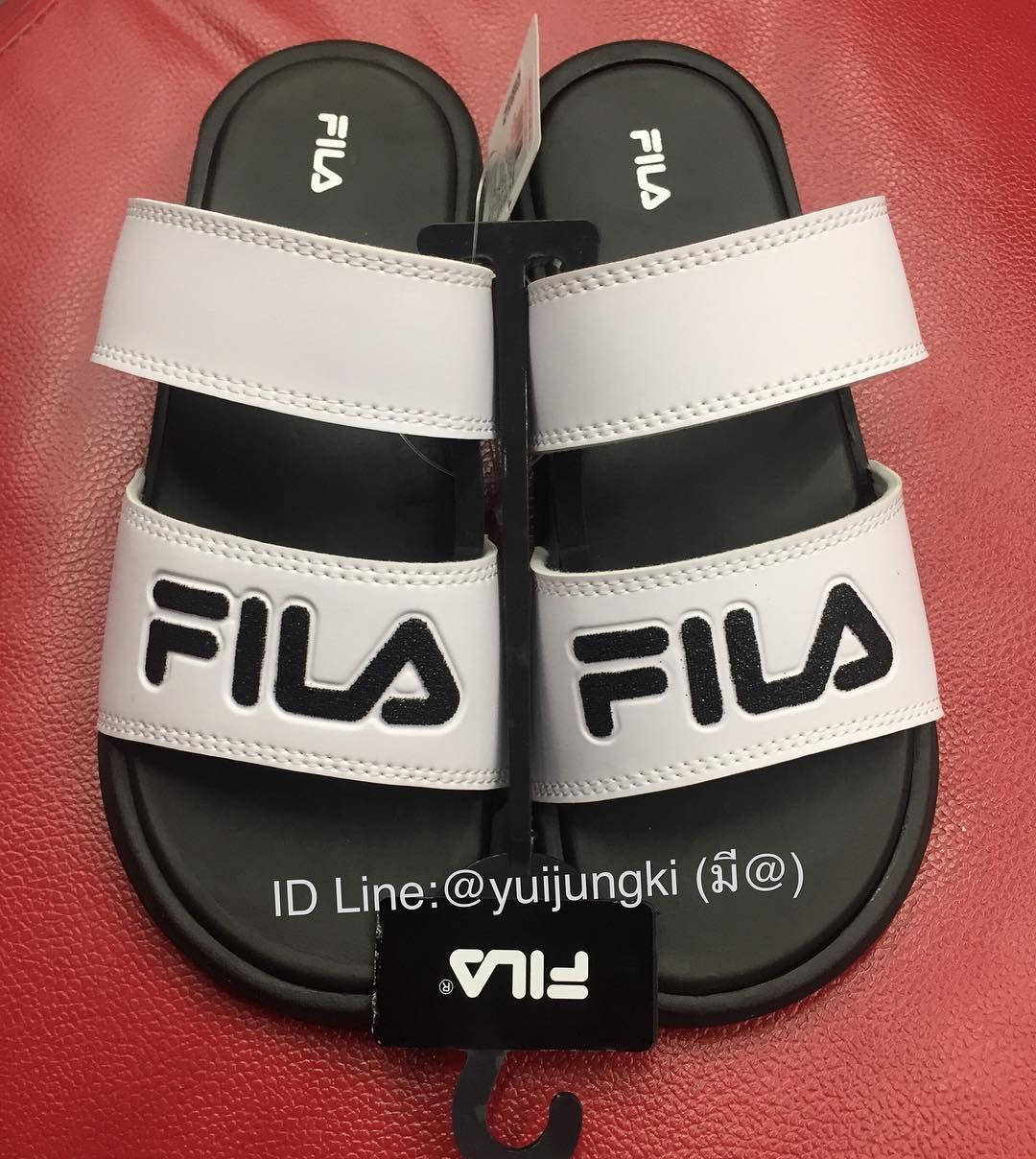 6612078a66e018 รบหวดวน FILA . เขา shop วนนจาา . รองเทาแตะ fila ของแท หวจาก shop เอง ...