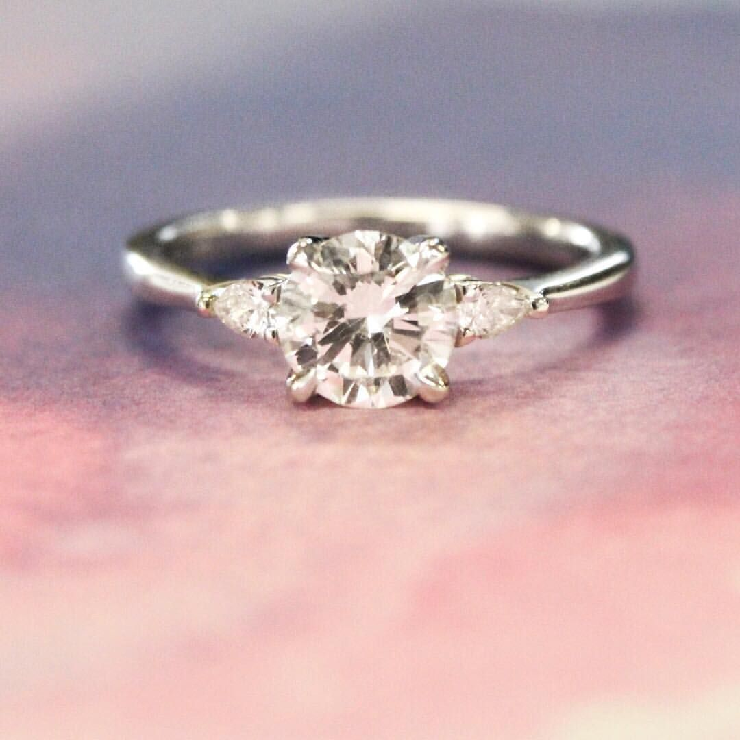 Pin by Melanie Cass Lein on 3 Stone Ring Inspiration | Pinterest ...
