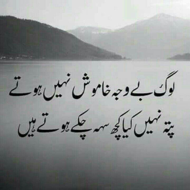 Pin by ѕƴєɗα υzzι on ︶°•Silent Poetries•°︶   Poetry, Urdu ...