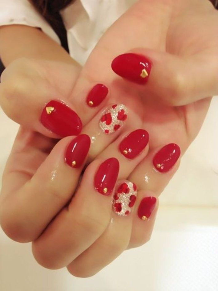 Fabulous Valentine\'s Inspired Nail Arts | Beautiful nail designs ...