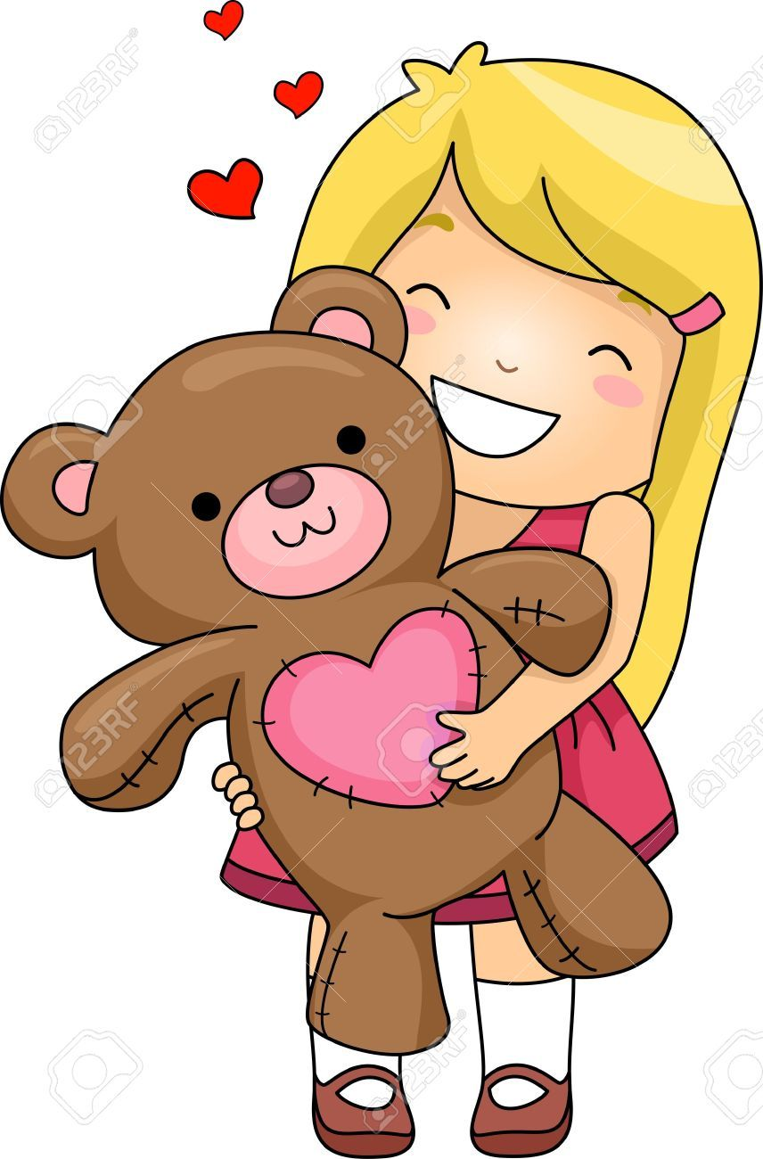 Image result for children hugging stuffed animal