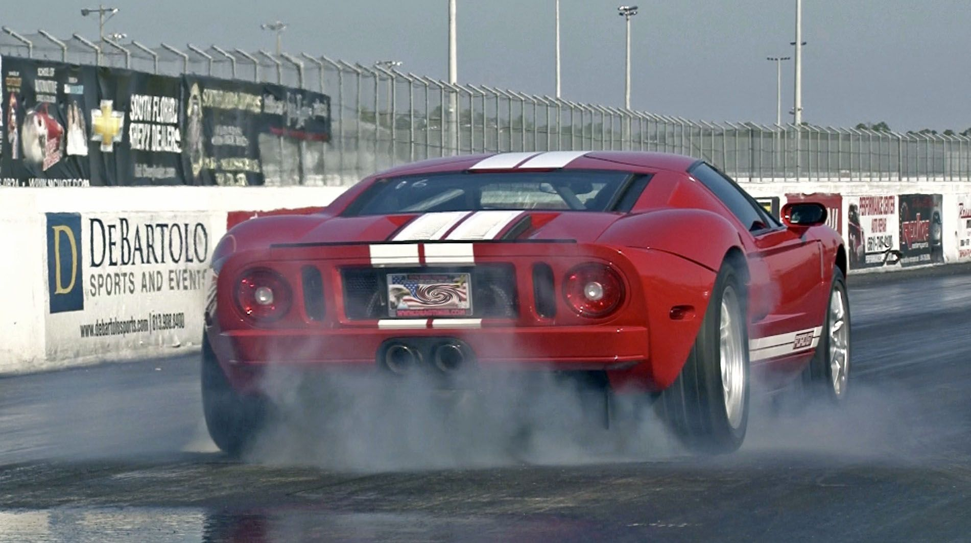 Fast  Ford Gt Pulley Tune Exhaust Mile Drag Racing Videos And Timeslips