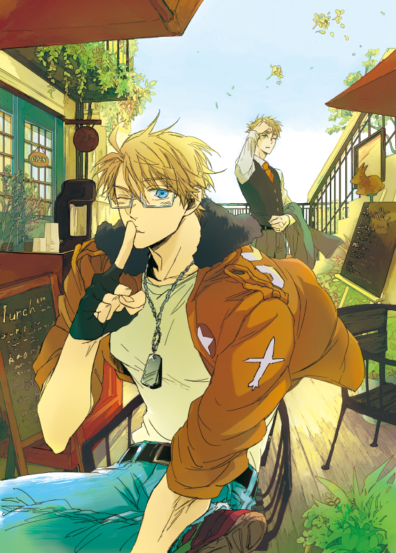 Really cute pic of America and England <3 #Hetalia
