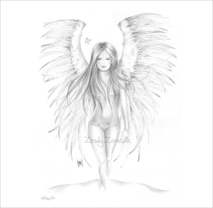 30 angel drawings free drawings download