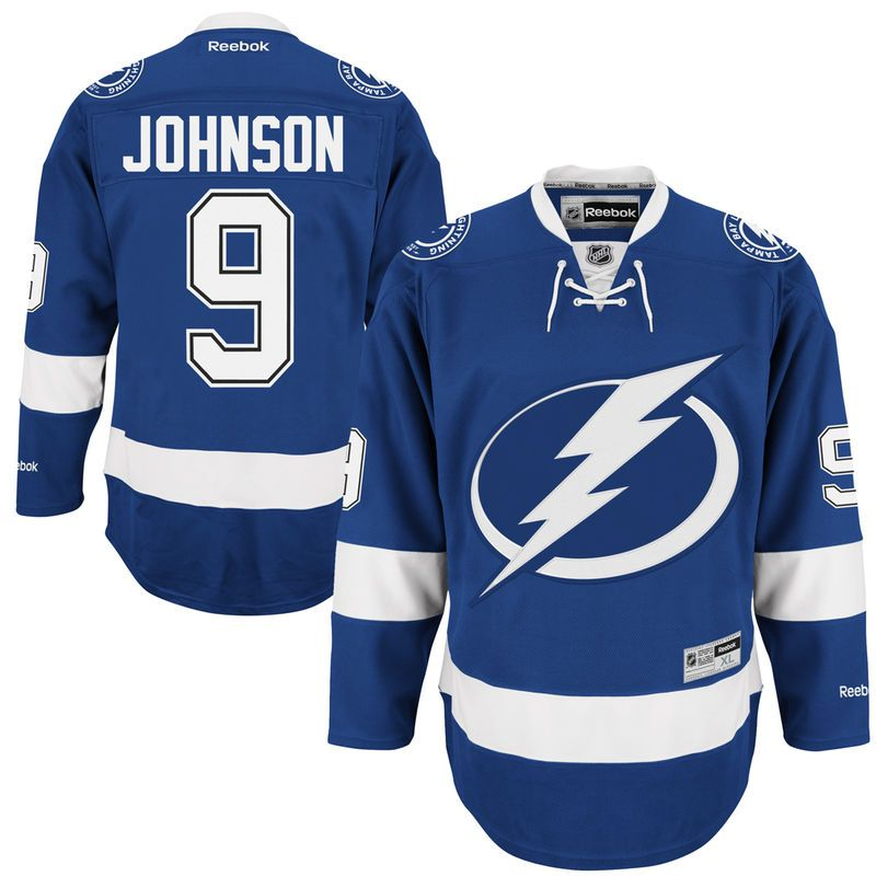Tyler Johnson Tampa Bay Lightning Reebok Premier Player Jersey - Blue