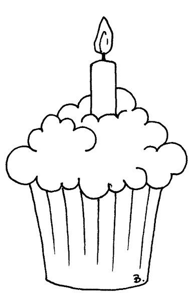 Beccy S Place Frothy Cupcake Birthday Coloring Pages Cupcake Coloring Pages Coloring Pages