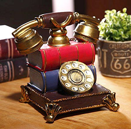 Buy Tiedribbons Decorative Telephone Showpeice For Home Decor And