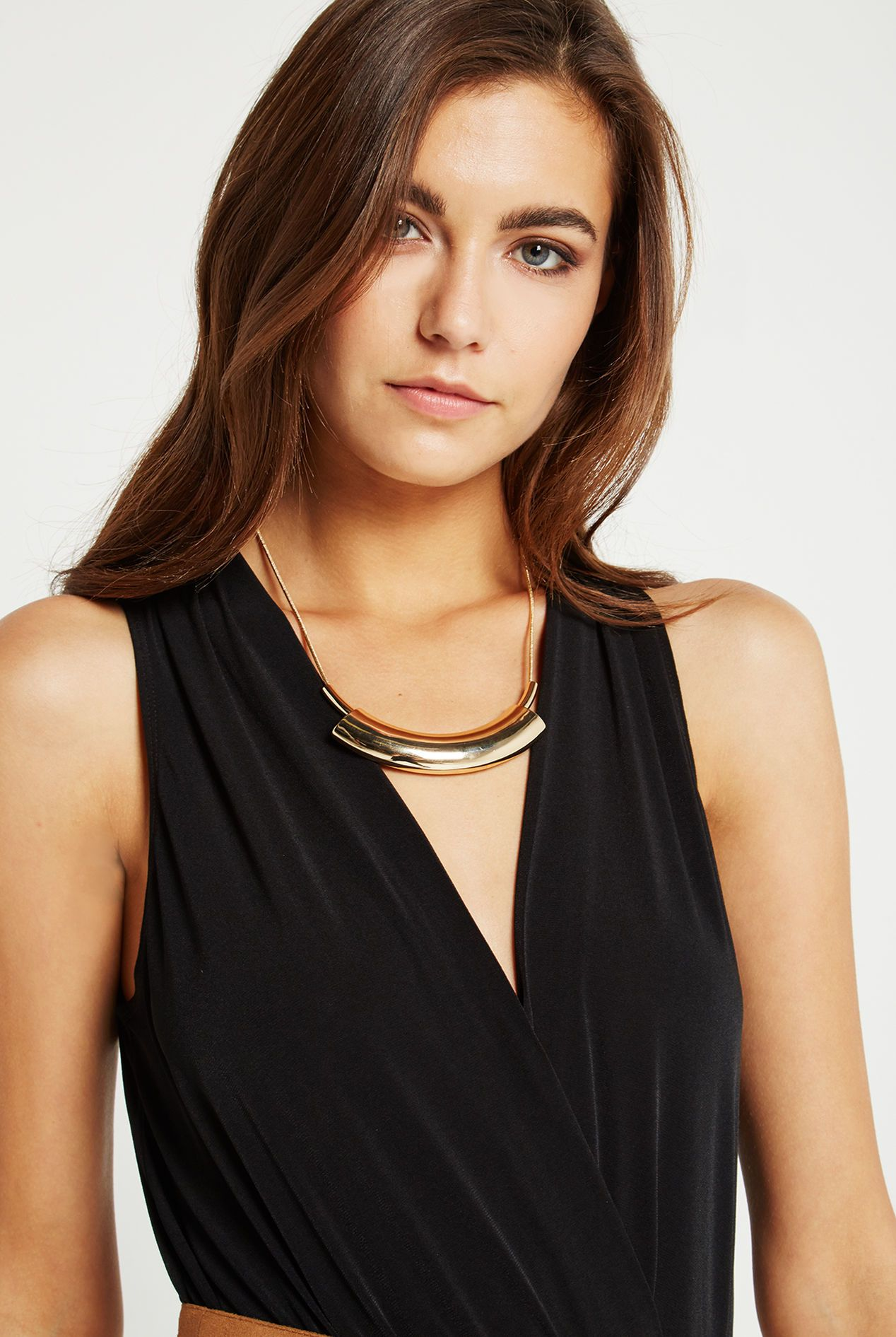 How Mod Statement Necklace