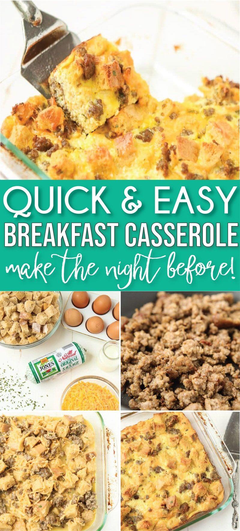 Pin by Vh Medilin on Food in 2020   Breakfast casserole ...