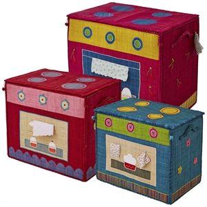 Organizador de Brinquedos em Ráfia Fogão Conj com 3 Rice - Loja virtual especializada no público infantil - decoracao-organizadores-de-brinquedos-rice-f-organizador-de-brinquedos-em-rafia-fogao-conj-com-3-rice Baú da Lulu