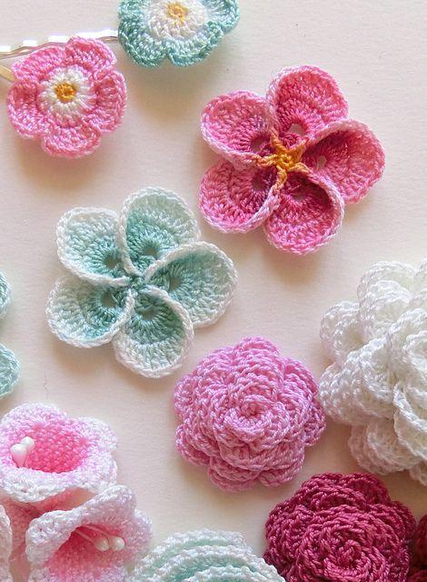 Crochet Plumeria Flower pattern by goolgool | Galit Grosz Cabot ...