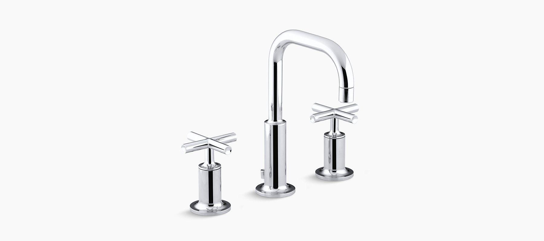 The Ada Certified K 3 Water Saving Sink Faucet Has A