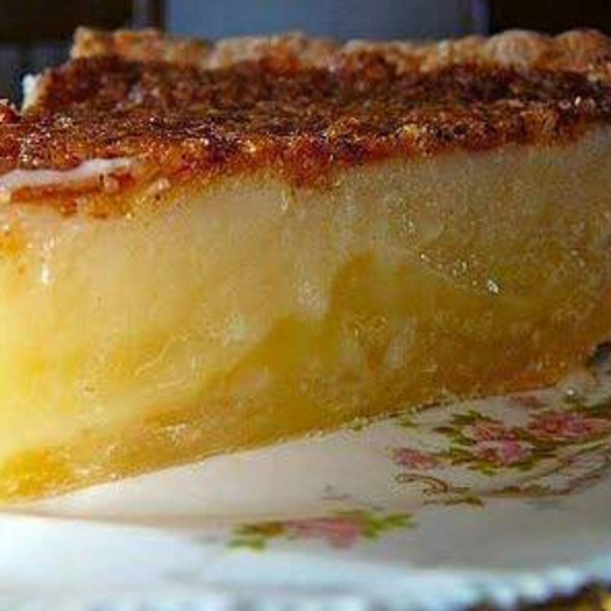 Best Southern Pie Recipe Desserts Buttermilk Pie Buttermilk Pie Recipe