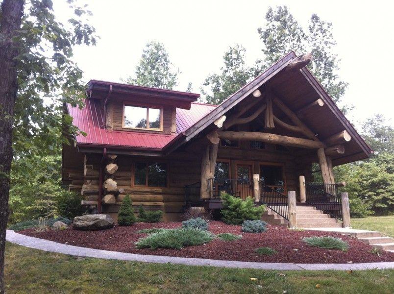 Big Pine Lodge Log Cabin Nashville, Indiana (Brown County