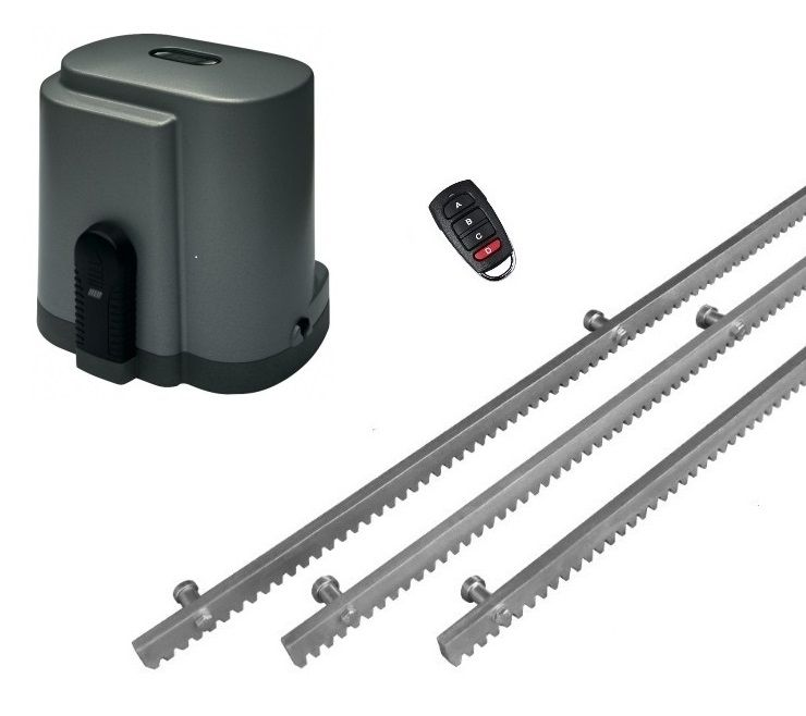 Set for sliding garage door with RIB K500 motor …