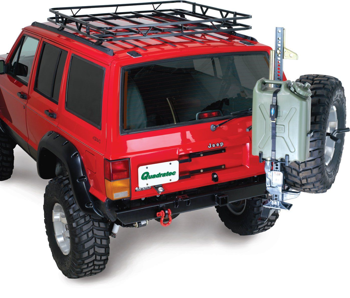 This Gerry Can Mount Accessory For Your Garvin Swing Away Tire System P N 34800 Allows You To Carry 5 Gallon Gerry Cans Jeep Xj Jeep Cherokee Xj Jeep Cherokee