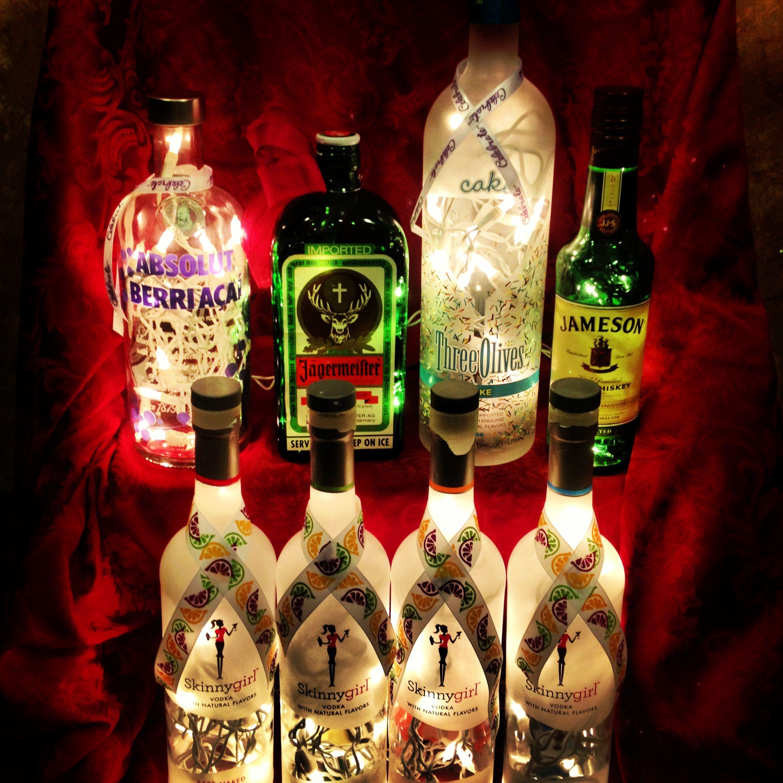 Liquor Bottle Lights #Forsale
