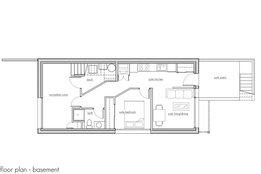 Modern Vancouver Houses Vancouver House Floor Plans House