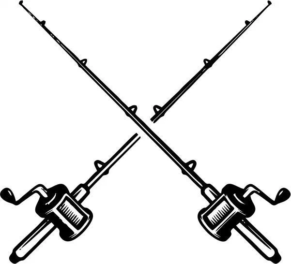 Sell Fishing Rods Amee House Type Tattoo Fish Vector