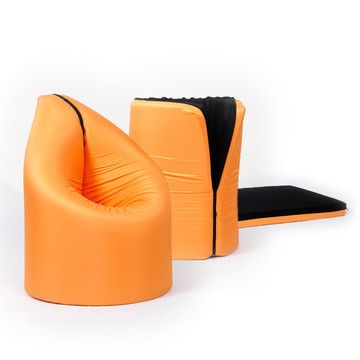Collapsible Paq Chair / Bed   From Geza Csire / Hungary
