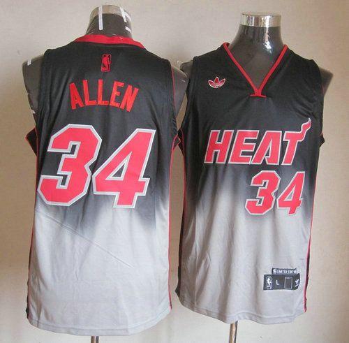 Camisetas Baloncesto NBA Miami Heat Allen  34 Negro 011  ed5f1b119918e