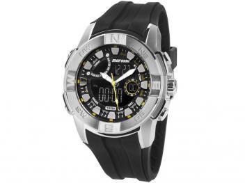 Relógio Masculino Mormaii MOQG158AC 8Y Anadigi - Resistente à Água com  Cronômetro e Calendário 5108ac5143