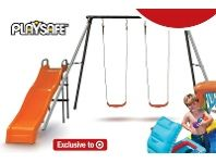 Playsafe Flinders Swing Set 99 Presents Presents Catalog Target