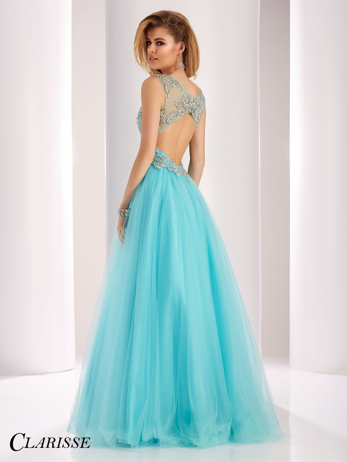 Sparkling V-Neck Ball Gown 3019 | Ball gowns, Prom and Gowns