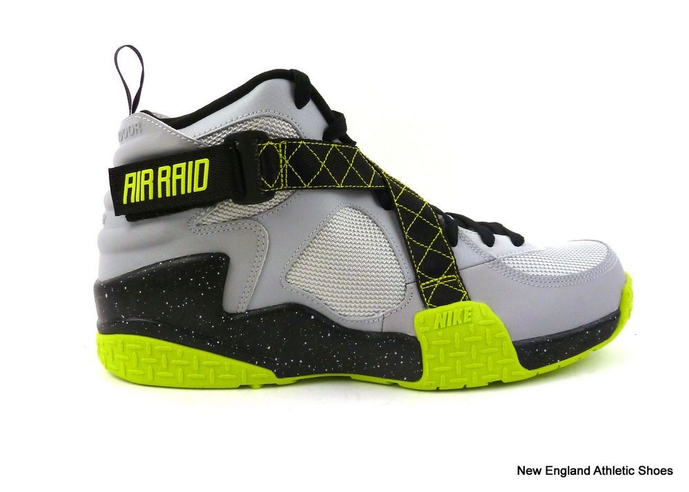 40fe3db8 Nike men Air Raid Basketball shoes size 11.5 - Wolf Grey / Venom ...