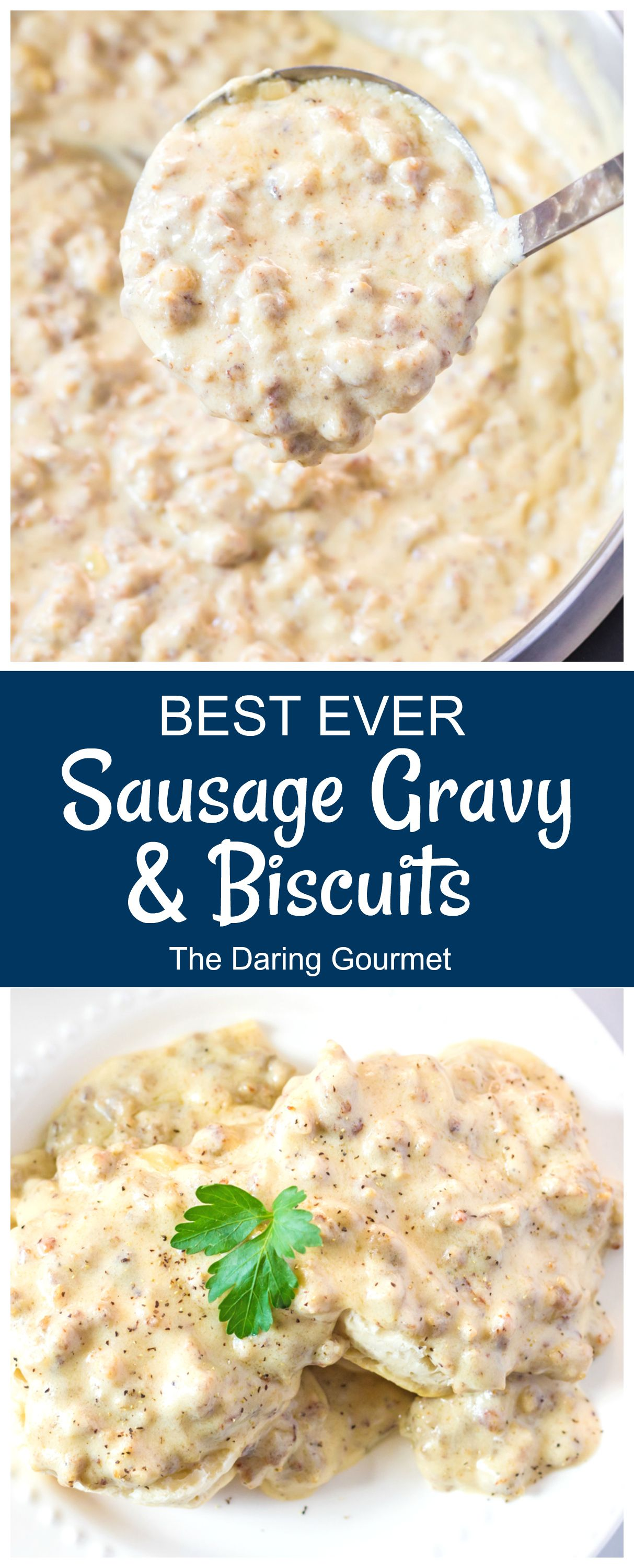 Sausage Gravy And Biscuits Recipe In 2020 Sausage Gravy Sausage Gravy And Biscuits Recipes