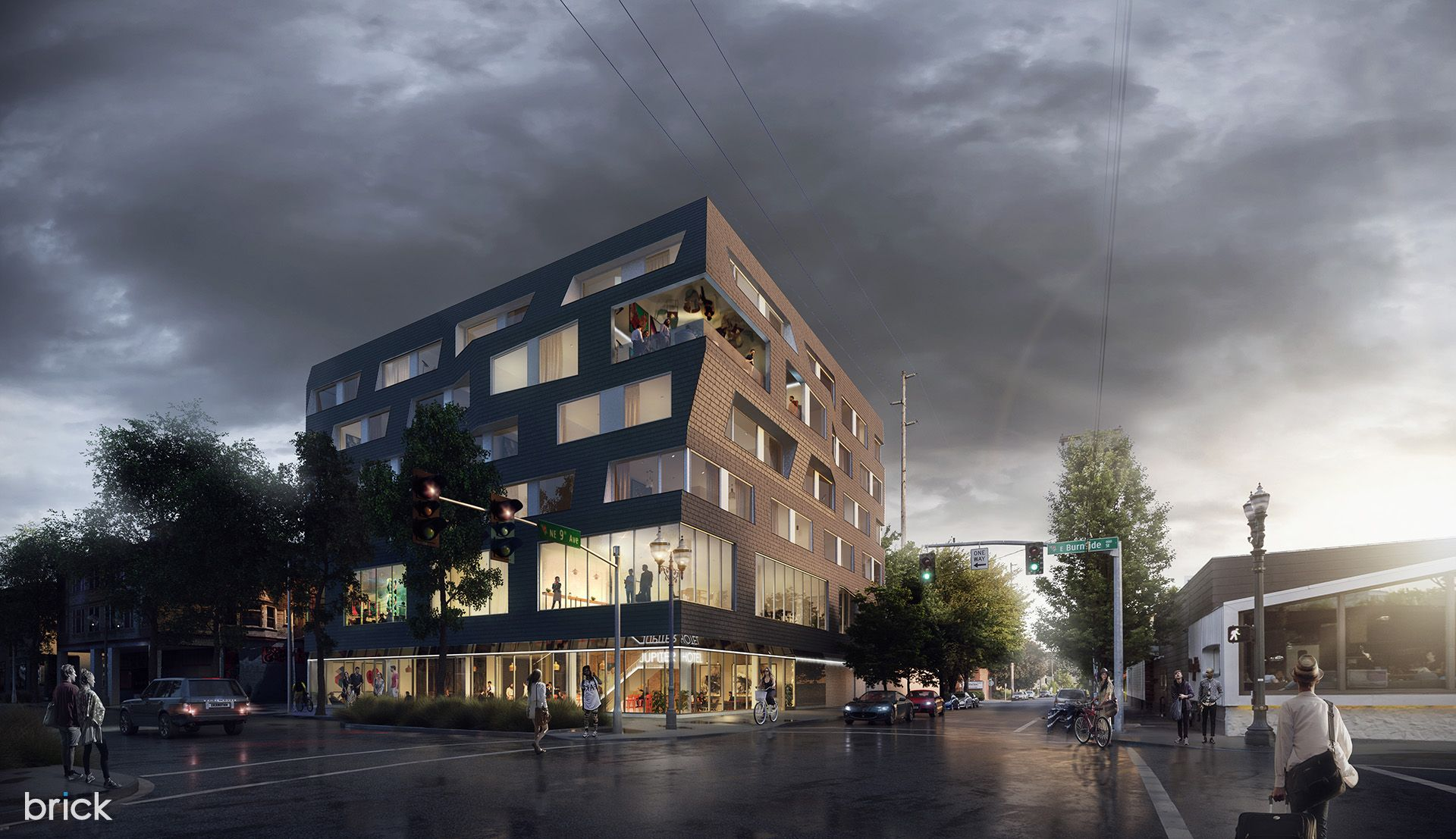 Best of Week 44/2016 - Jupiter Hotel, Portland, Oregon by Brick Visual - Ronen Bekerman - 3D Architectural Visualization & Rendering Blog