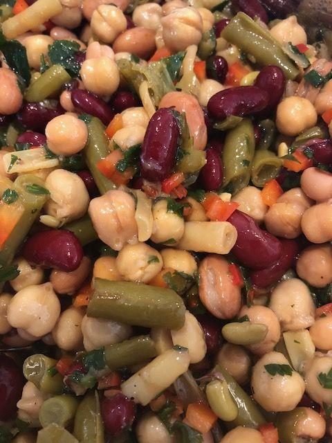 Bean Salad Bean Salad Bean Salad Recipes Four Bean Salad