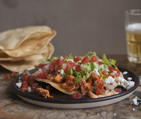 Mexican Chicken Tinga Recipe #mexicanchickentacos