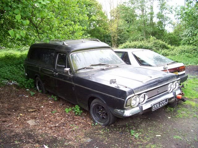 Ford Zodiac Hearse Hearse Flower Car Car Barn