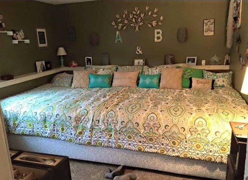 Pin by RioRay on Home Improvements Family bed, Huge bed