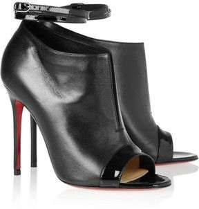 aaadaa9ab30f Christian Louboutin Diptic 100 leather ankle boots on shopstyle.com ...