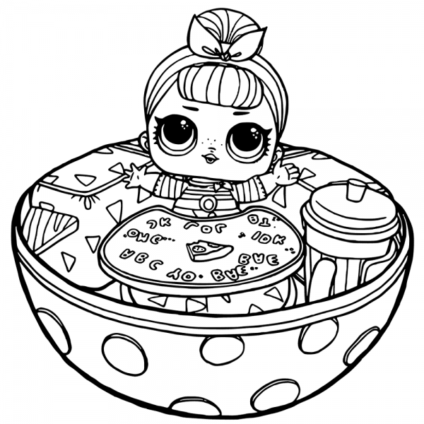 Funny Lol Surprise Doll Coloring Pages Kitty Coloring Elsa Coloring Pages Baby Coloring Pages