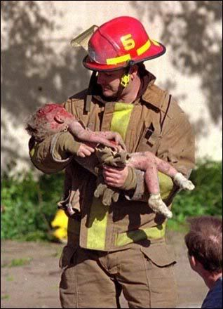 Tragedy in Oklahoma [1995] So sad.
